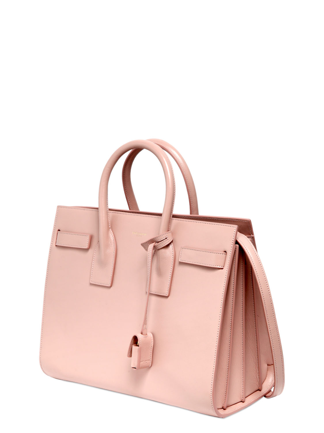 cheap yves saint laurent handbags - classic small sac de jour bag in light rose grained leather