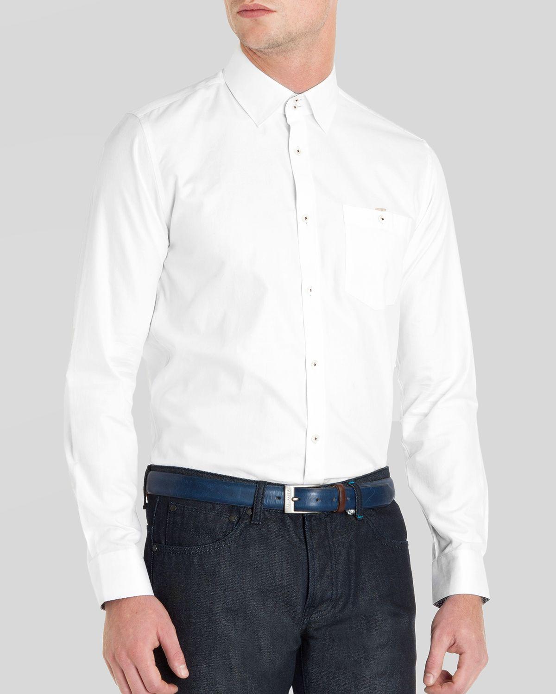 Lyst Ted Baker Rueloff Oxford Dobby Button Down Shirt