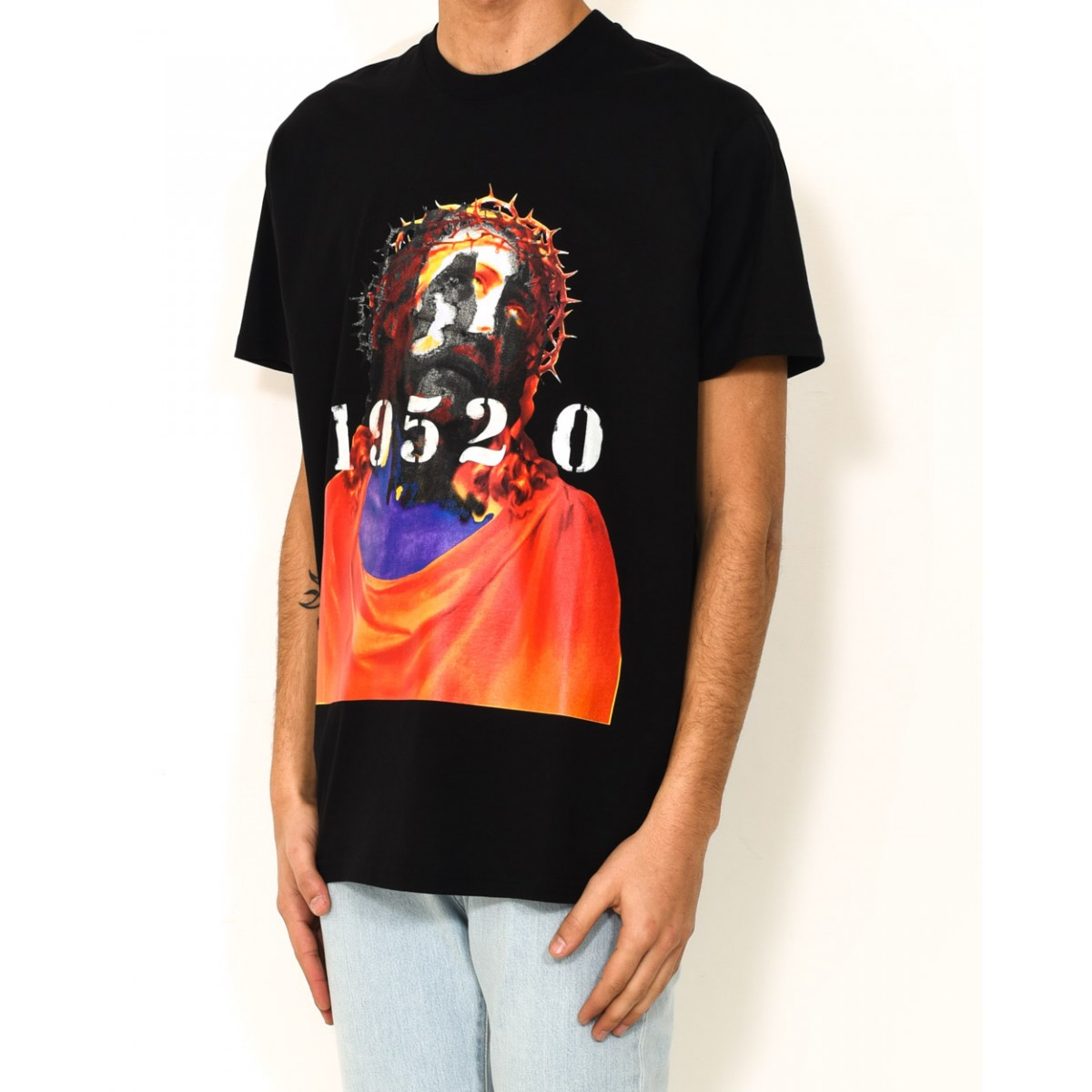 Givenchy Jesus 1952 0 T Shirt In Black For Men Lyst