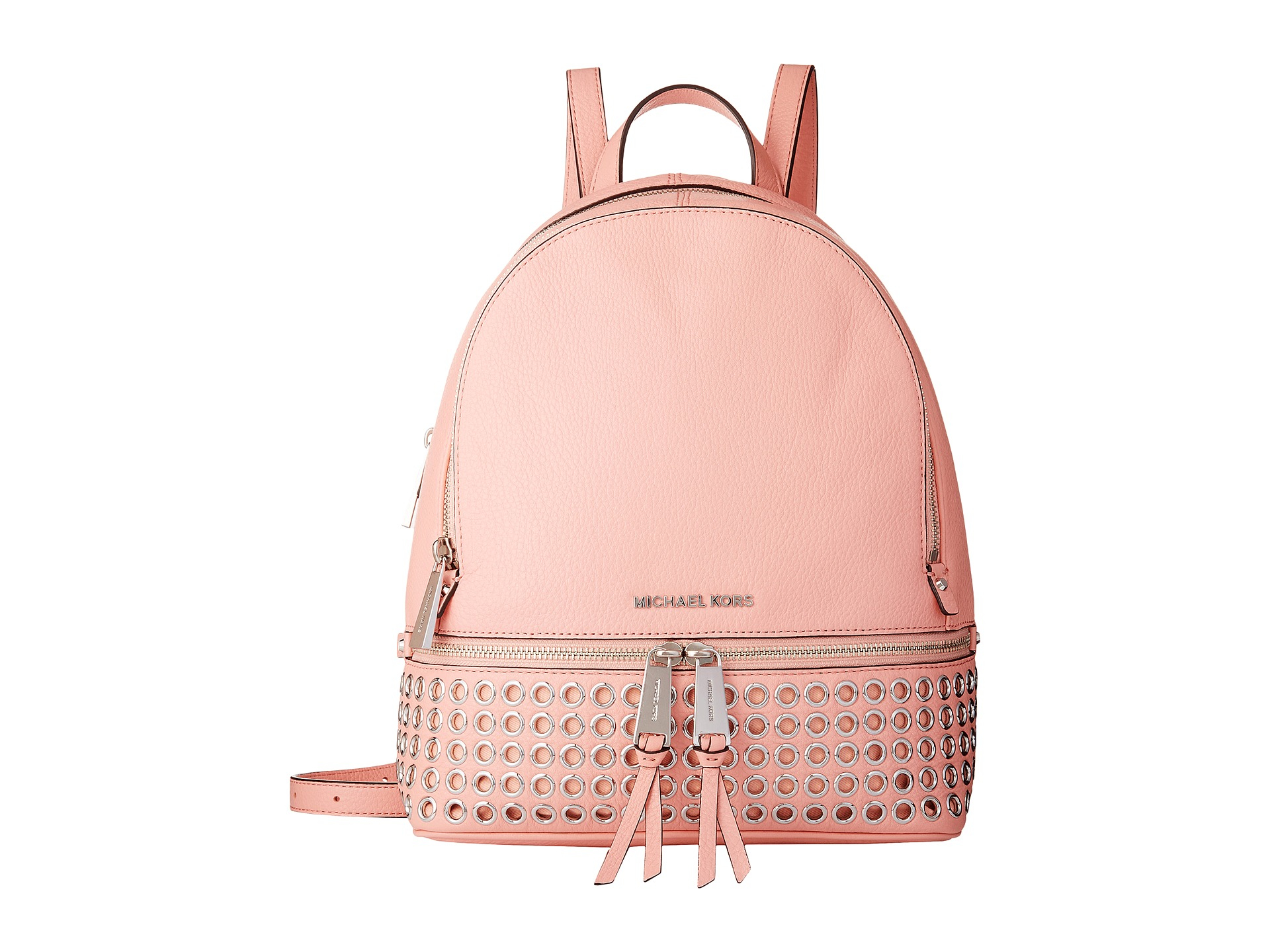 Michael michael kors - Studded Backpack - Women - Leather - One ...