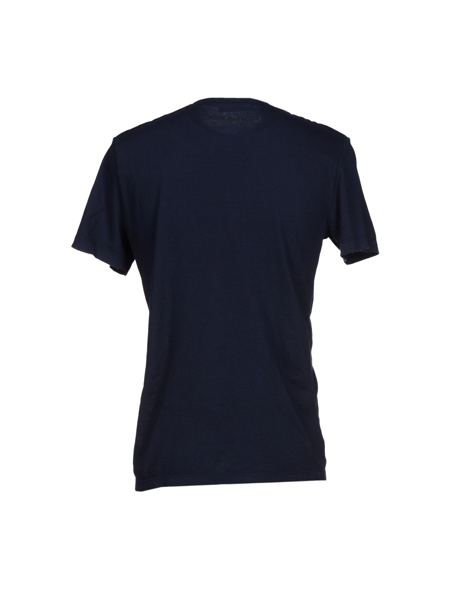 balmain t shirt in blue for men dark blue lyst. Black Bedroom Furniture Sets. Home Design Ideas