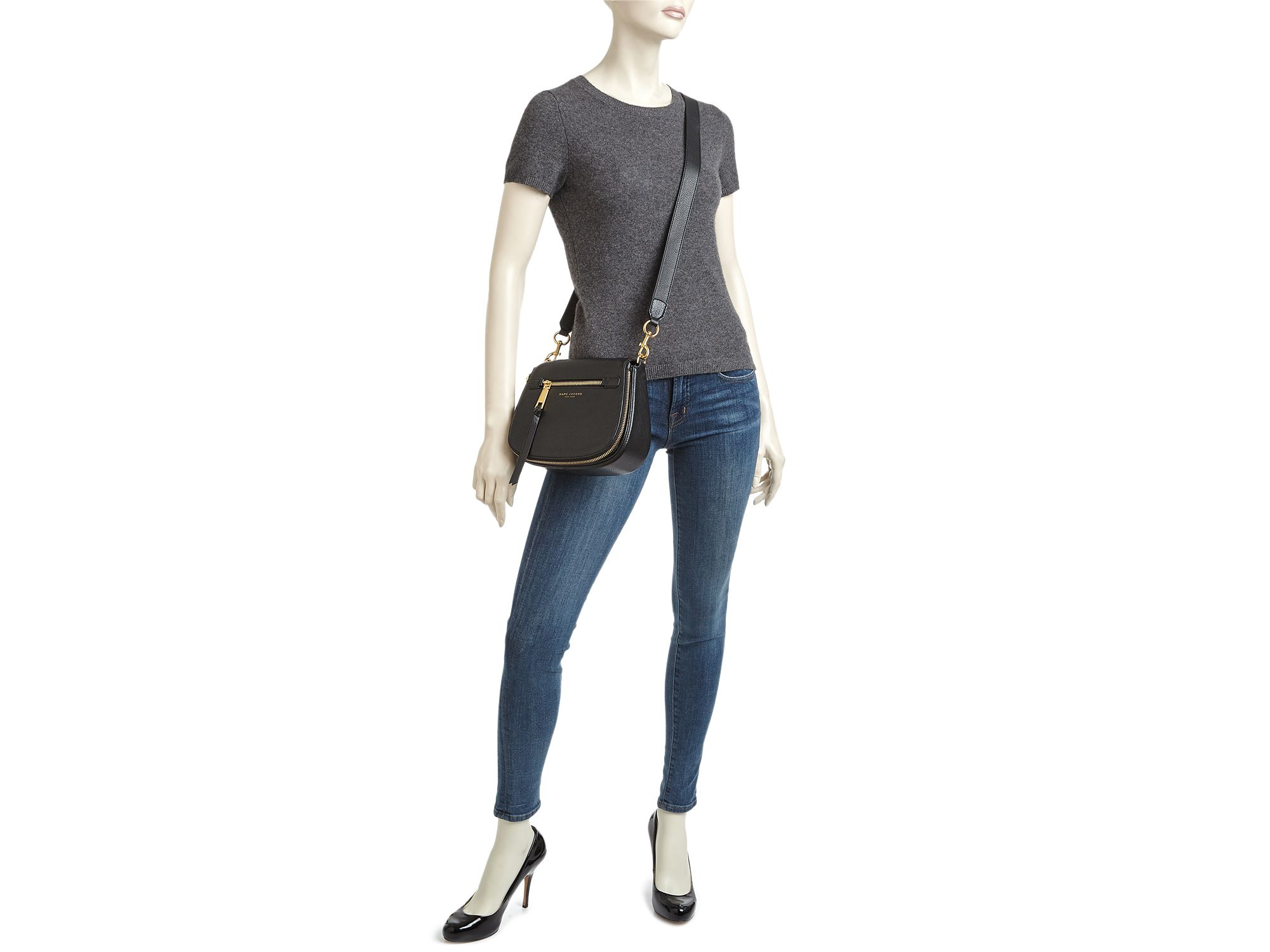 b37e249eae66 Gallery. Previously sold at  Bloomingdale s · Women s Saddle Bags Women s Marc  Jacobs Nomad