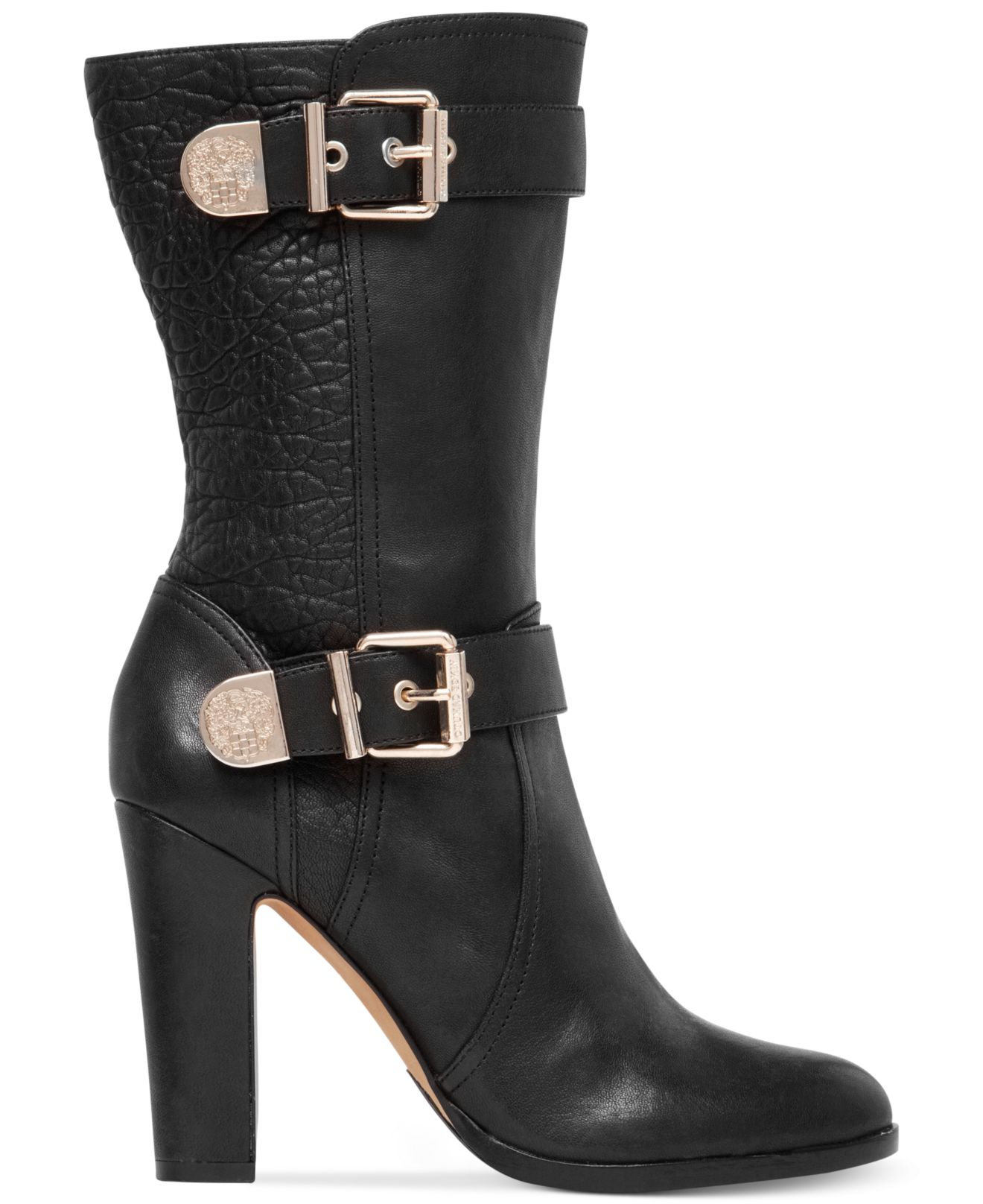 Lyst Vince Camuto Callison High Heel Boots In Black