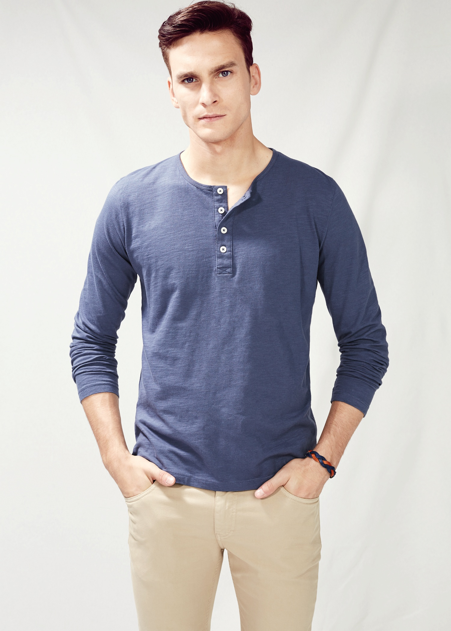 Discover the best Men's Henley Shirts in Best Sellers. Find the top most popular items in Amazon Best Sellers. From The Community. Amazon Try Prime All H2H Mens Casual Slim Fit Henley T-Shirt 3/4 Sleeve Basic Designed out of 5 stars $ - $ #