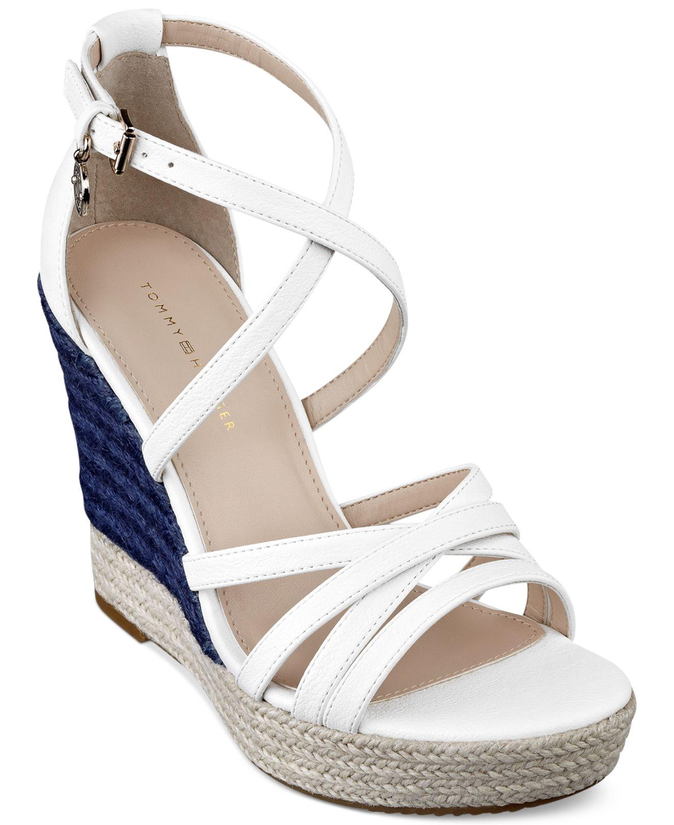 Tommy Hilfiger Platform sandals - white 0LWHRg2