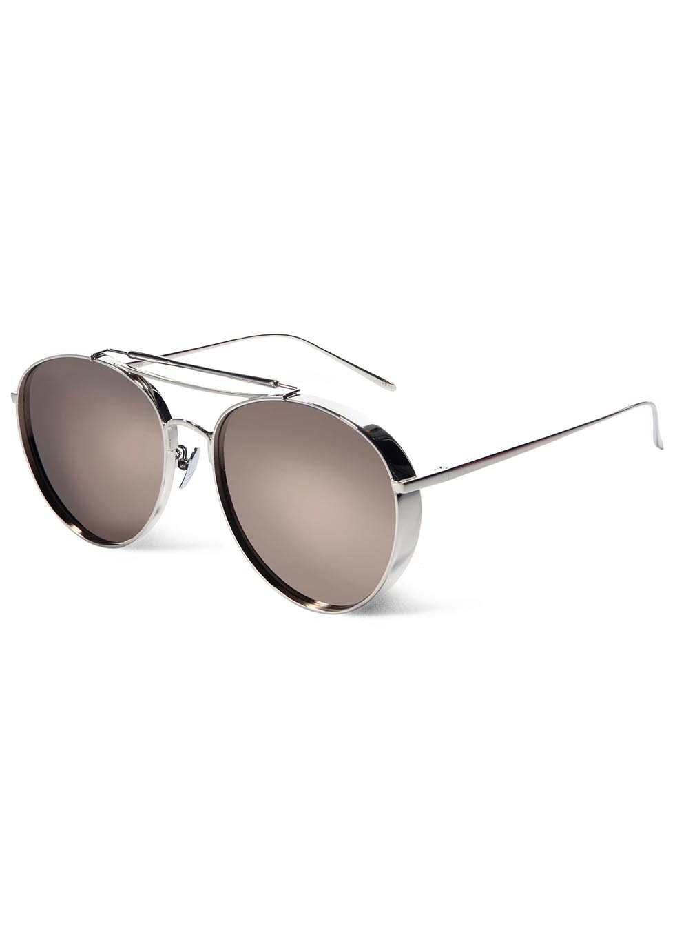 a44eb90c513 Gentle Monster Big Bully Mirrored Aviator-style Sunglasses in ...
