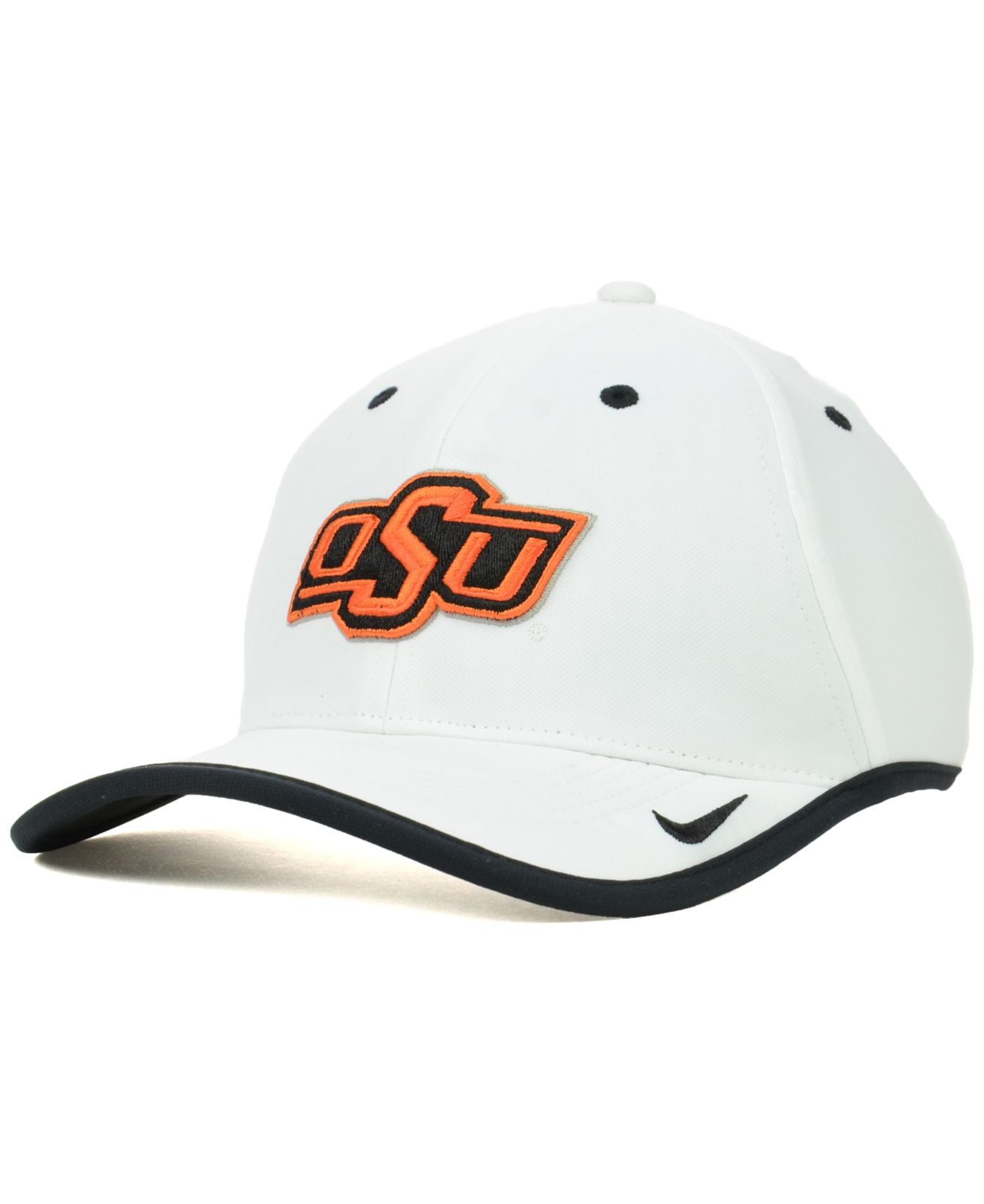 on sale 2a423 46157 Lyst - Nike Oklahoma State Cowboys Ncaa Coaches Cap in White for Men