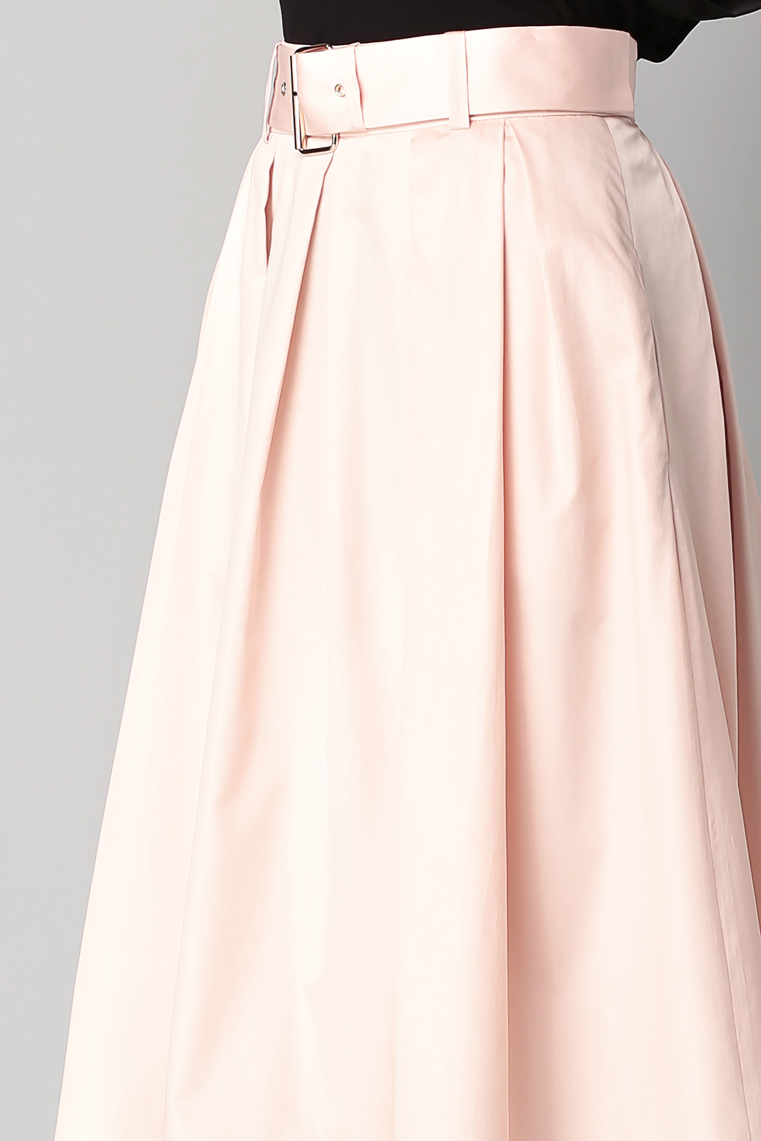 tara jarmon midi skirt maxi skirt in pink lyst