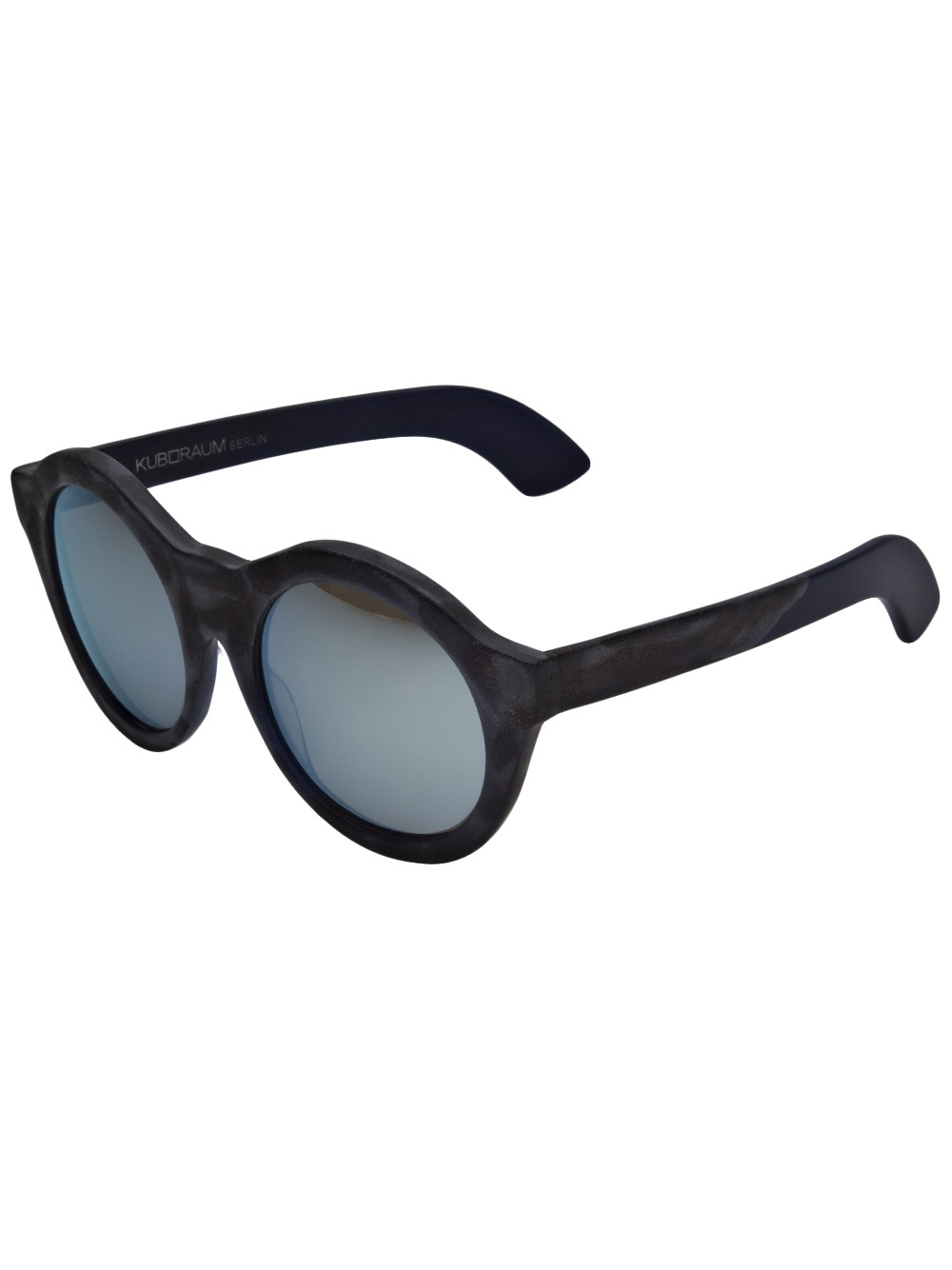 Large Round Frame Glasses : Kuboraum Large Round Frame Sunglasses in Black for Men Lyst