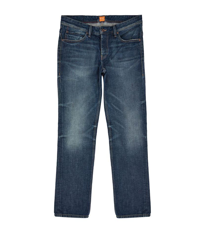 boss orange orange63 london slim fit jeans in blue for men lyst. Black Bedroom Furniture Sets. Home Design Ideas