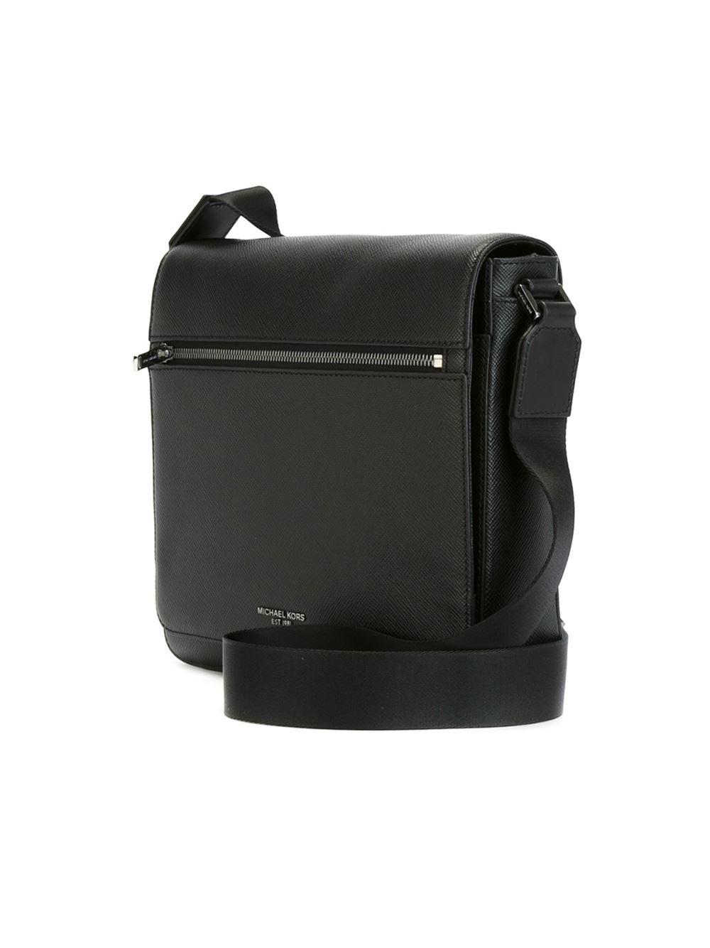 Lyst Michael Kors Medium Harrison Messenger Bag In