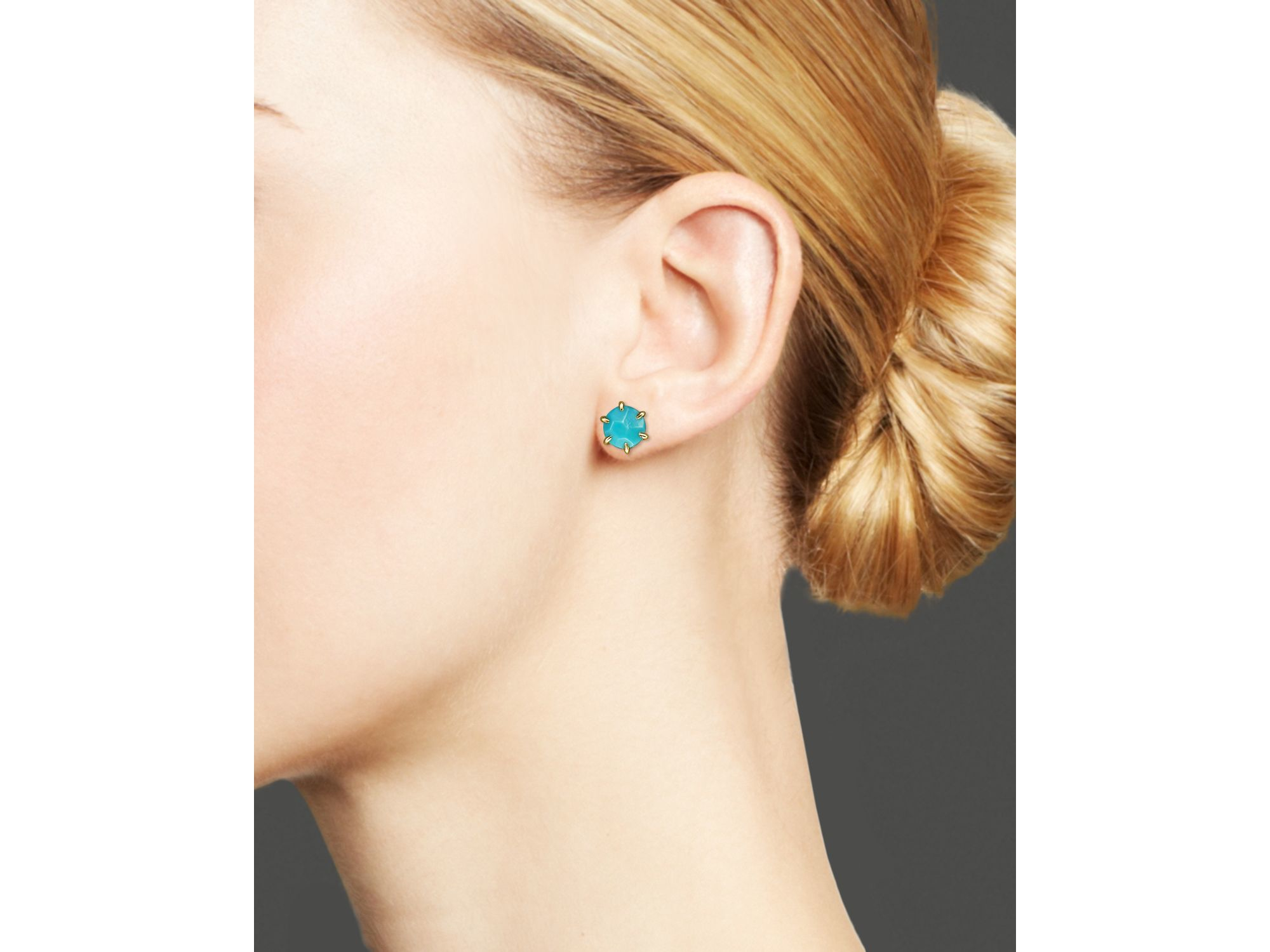 stud real floris turquoise earrings rose gold clarke uk astley vermeil mini