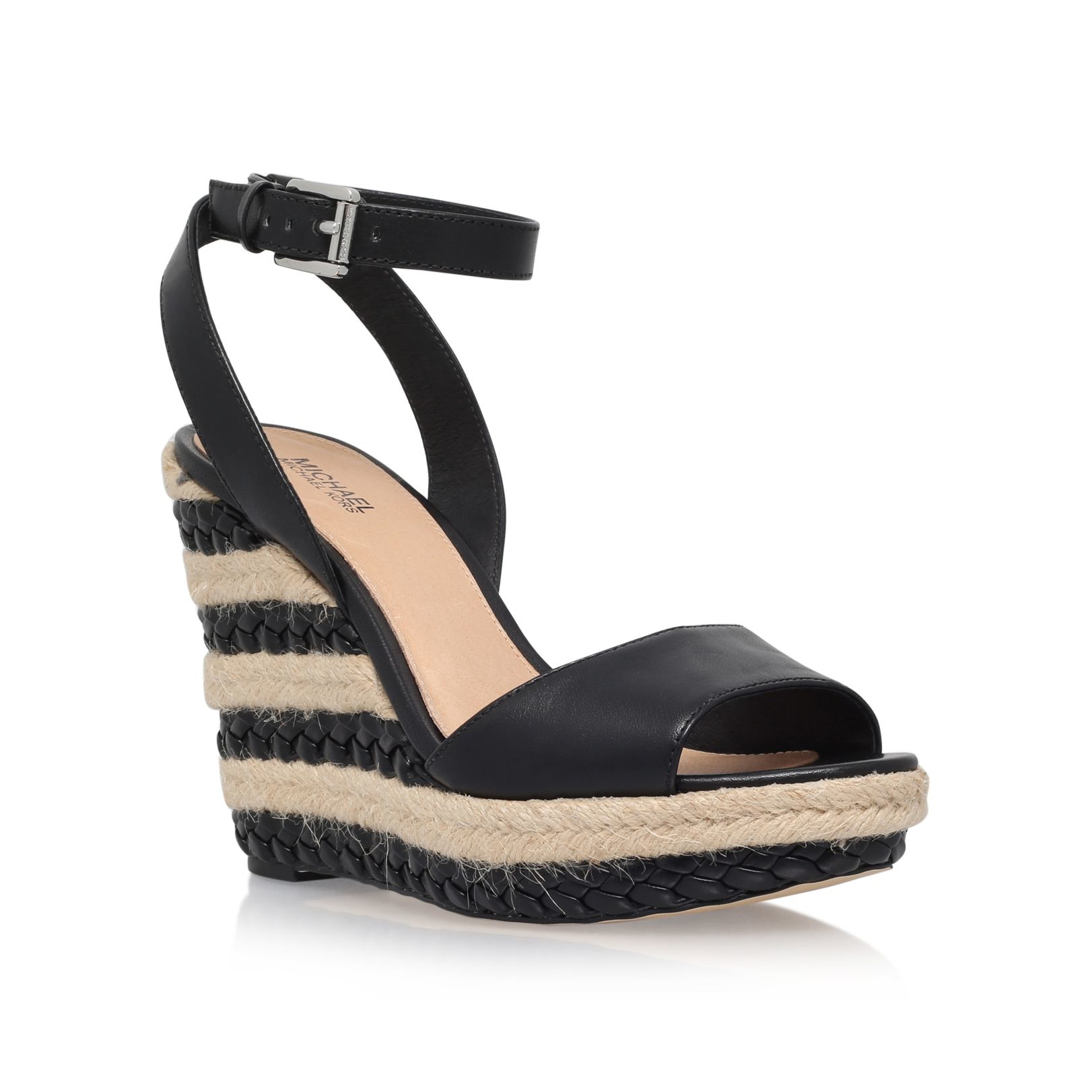 black wedge heels sandals wwwimgkidcom the image kid