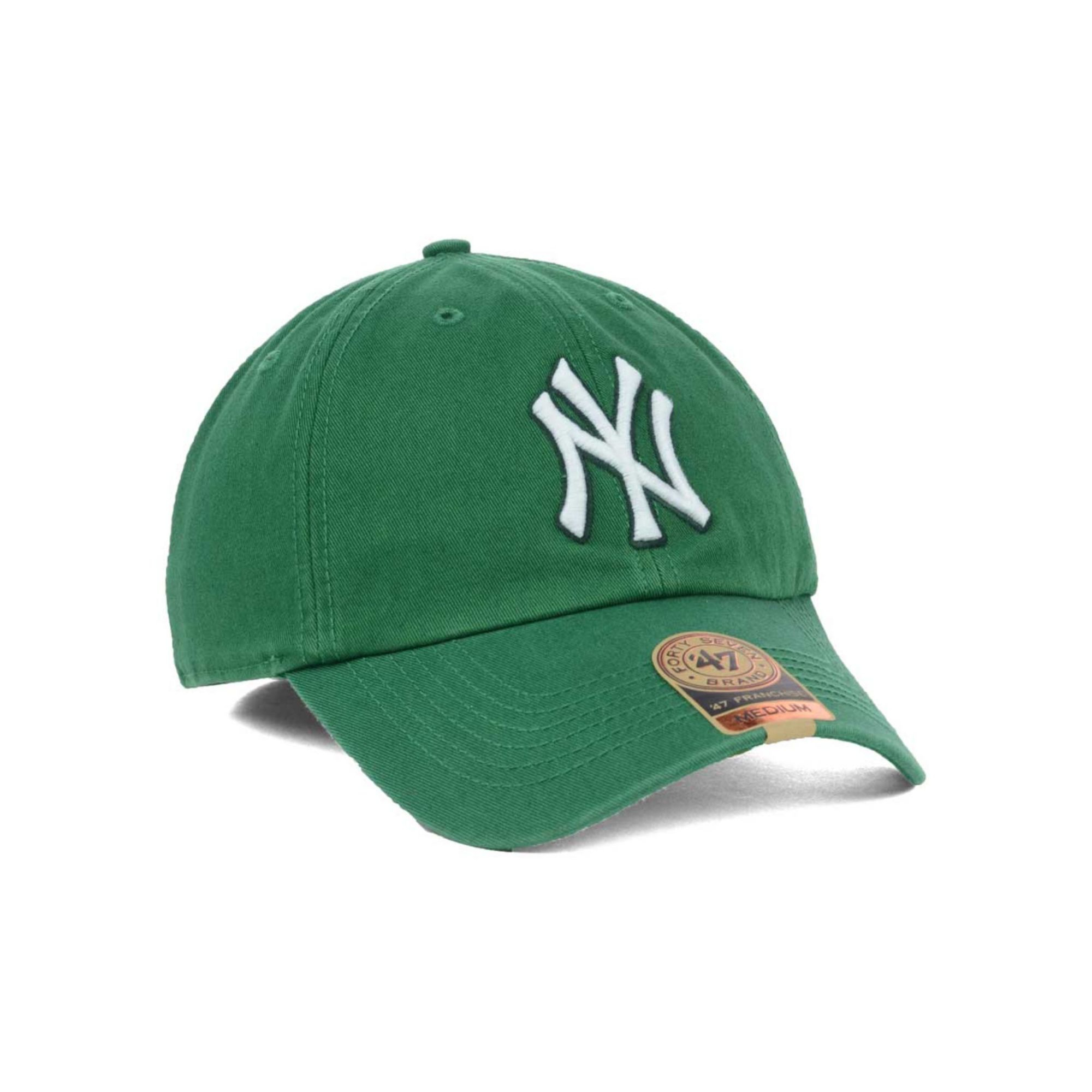 best authentic ccd8d 51522 ... new arrivals hat lyst 47 brand new york yankees mlb kelly 47 franchise  cap in green