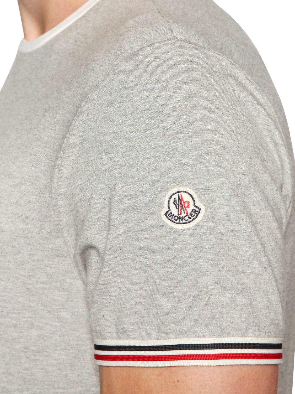 tee shirt moncler gris