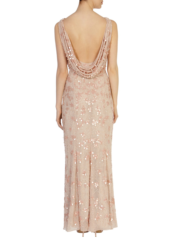 9978e6ae Coast Felix Sequin Maxi Dress in Pink - Lyst