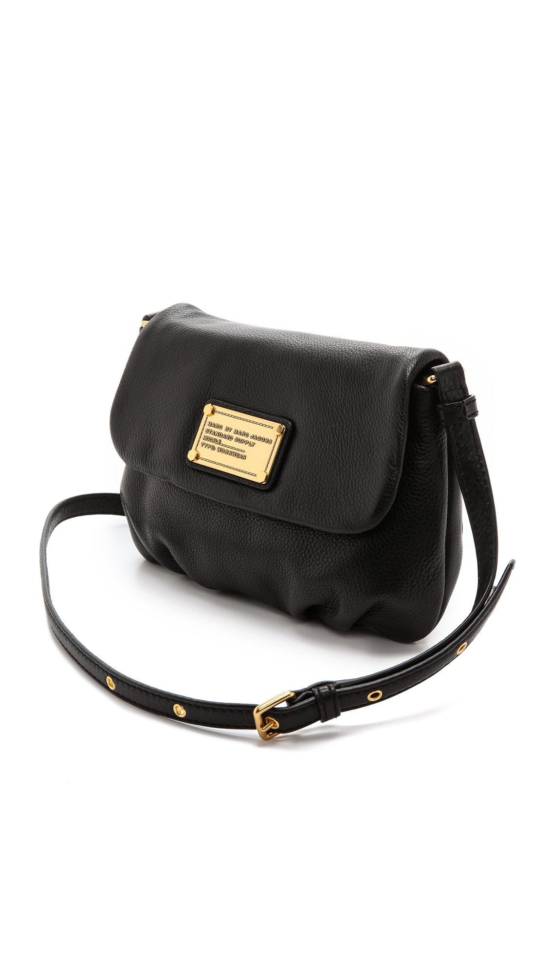 21f430fff4d76 Lyst - Marc By Marc Jacobs Classic Q Percy Leather Cross-Body Bag in ...