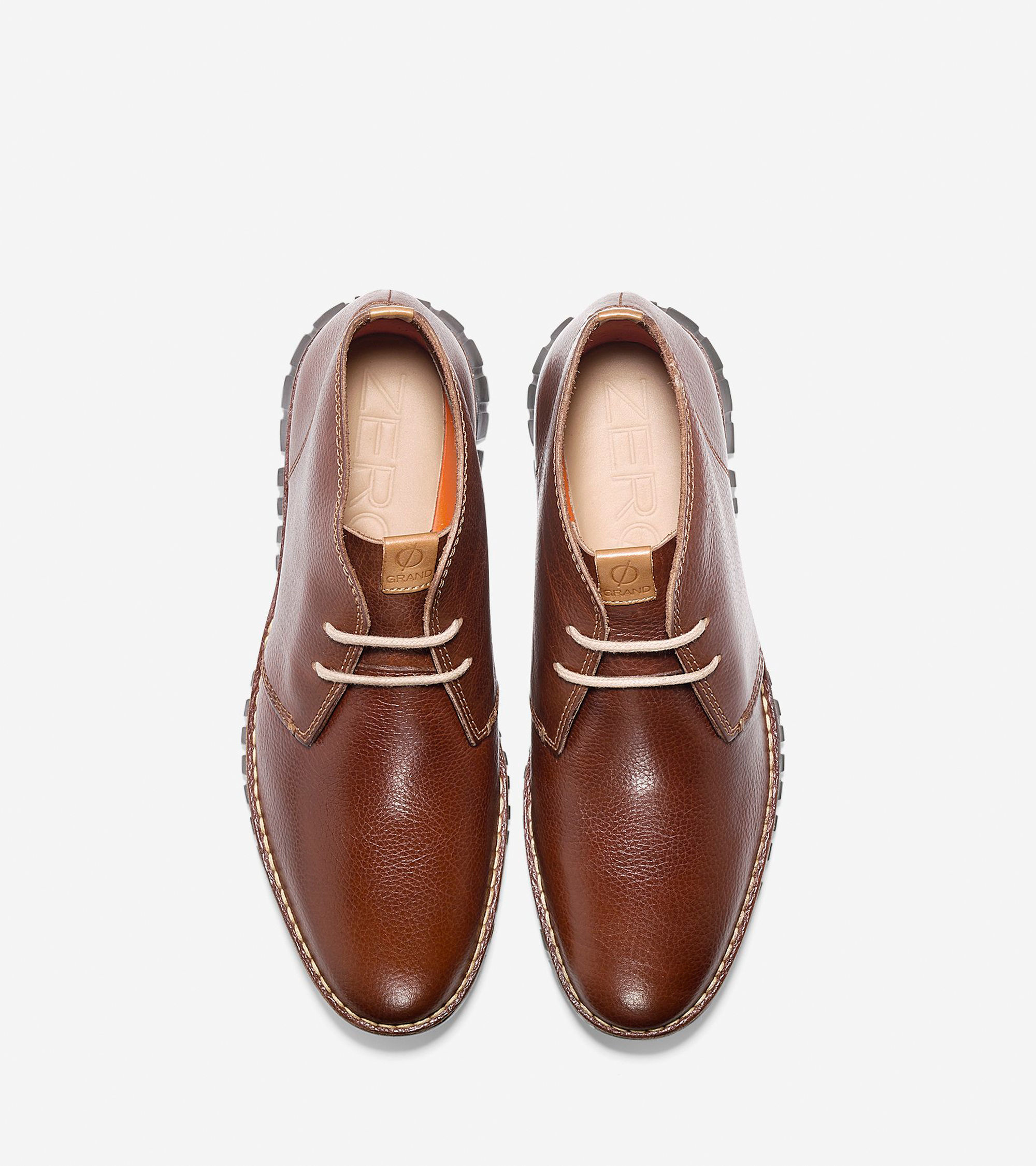 Cole haan Zerøgrand Stitch Out Chukka in Brown for Men   Lyst
