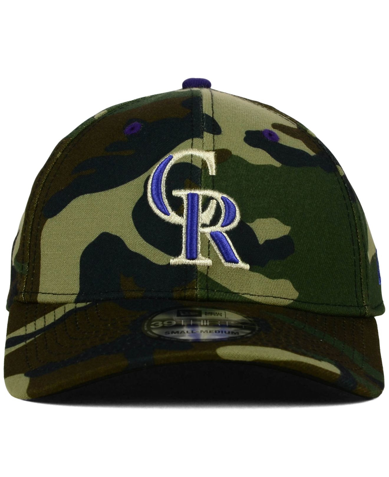 pretty nice ddf06 26124 ... promo code for wholesale lyst ktz colorado rockies camo classic  39thirty cap in green for men