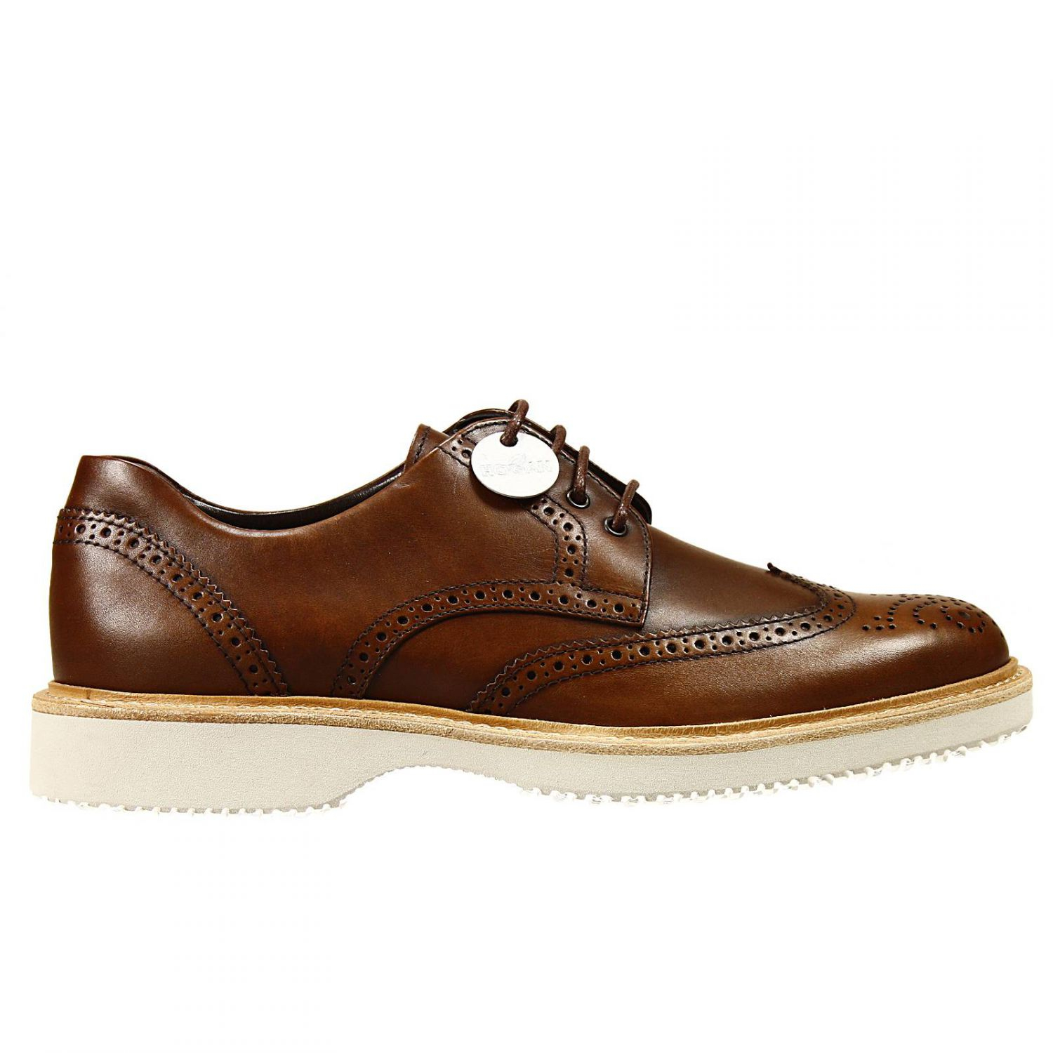 lace up shoe in brown for lyst