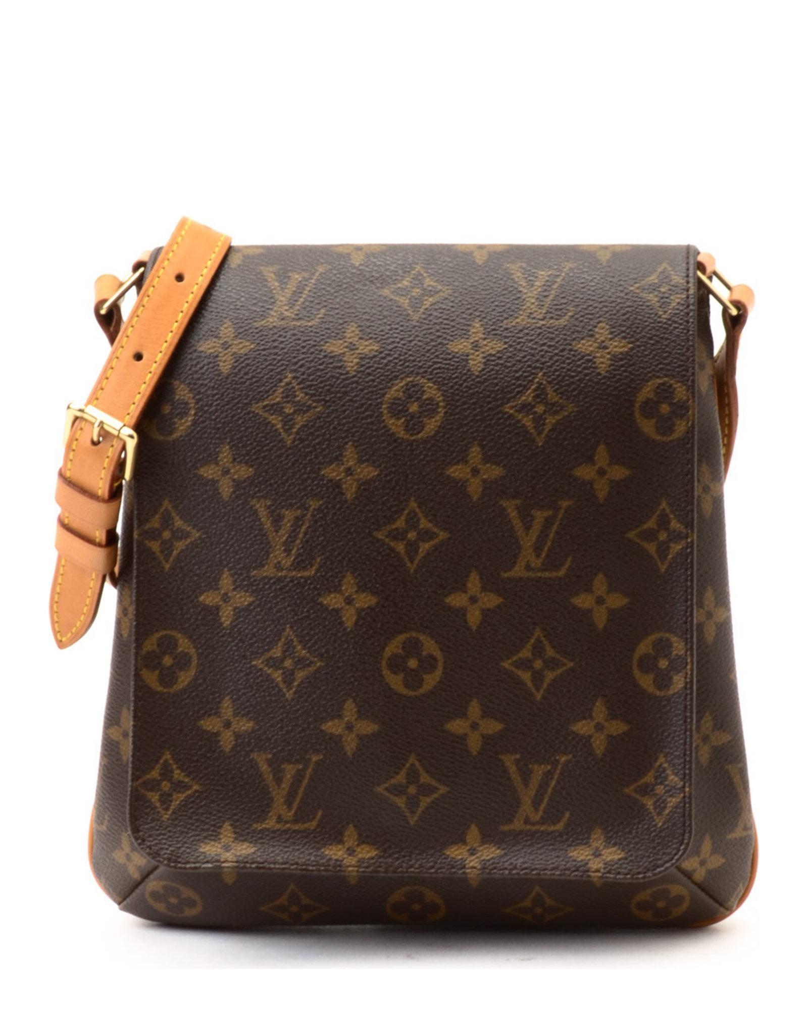 bc3ee8ed5d2d Louis Vuitton Brown Checkered Shoulder Bag