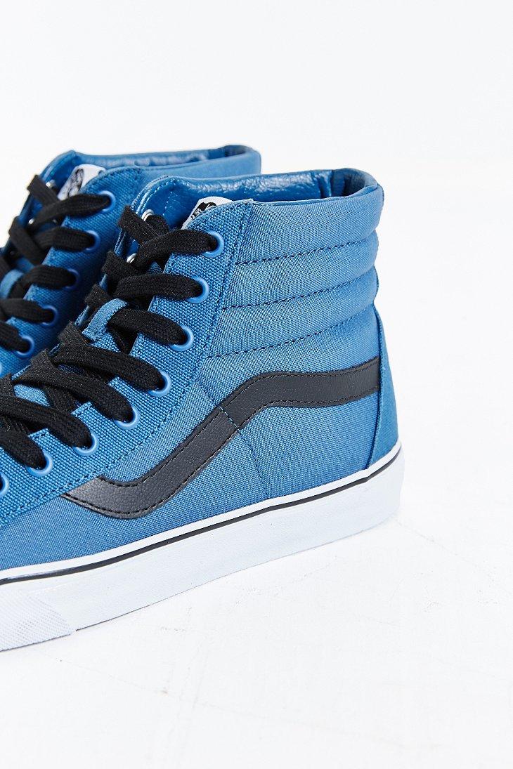 db344a21f83af2 Lyst - Vans Sk8-hi Reissue Canvas Sneaker in Blue for Men