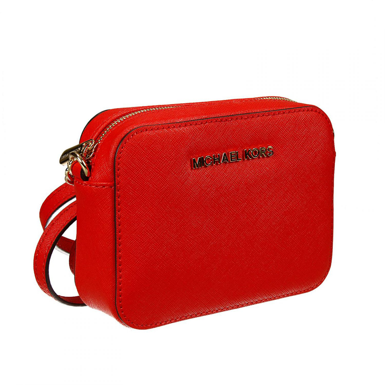 0b90ef1cc3e2 Michael Kors Crossbody Clutch Bag. Lyst - Michael Michael Kors Jet Set ...