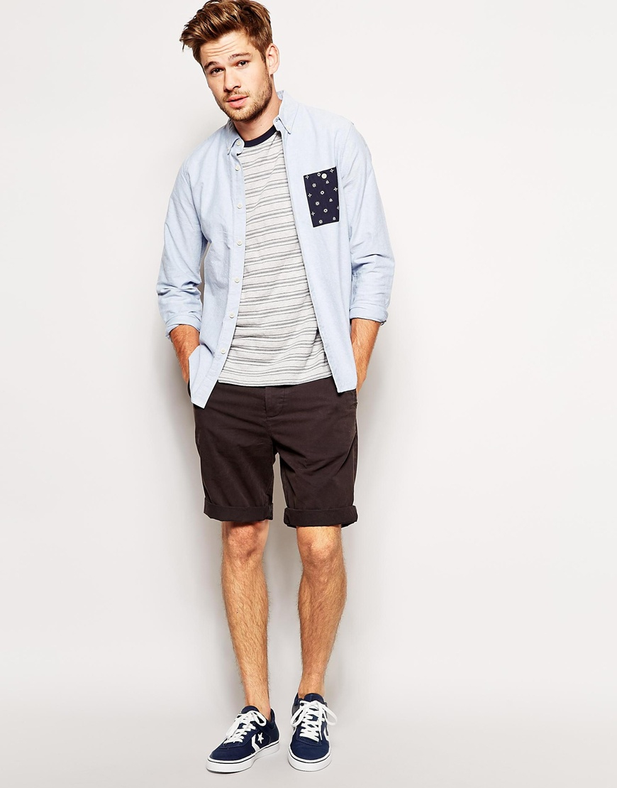 Jack wills Chino Shorts in Black for Men   Lyst
