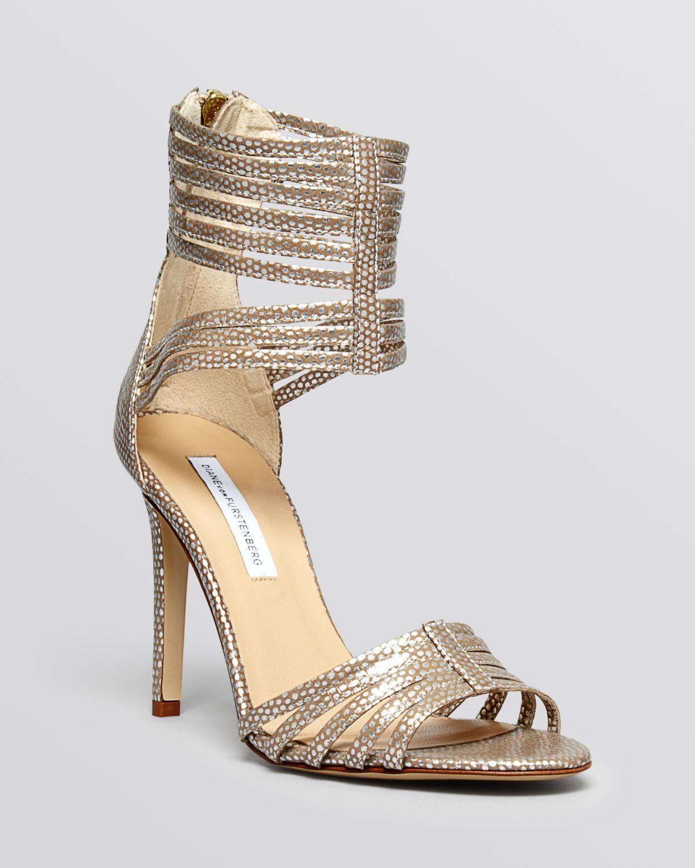 Diane Von Furstenberg Open Toe Evening Sandals Ursula