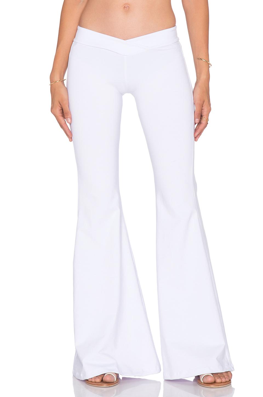 Indah Promise Bell Bottom Pant In White Lyst