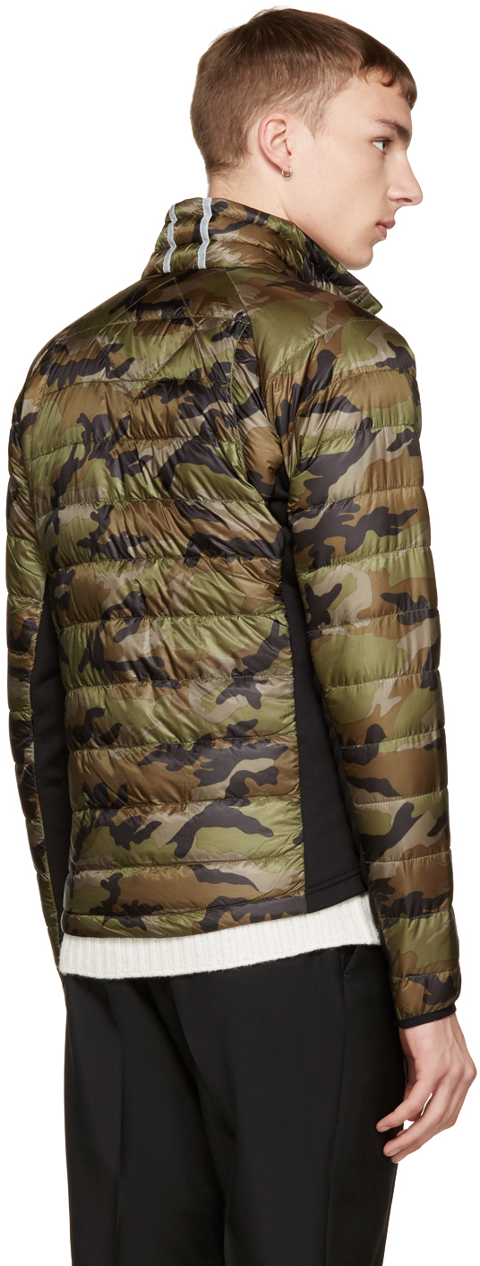 292d8a0a8f49 ... canada canada goose green camo hybridge light jacket in green for men  lyst 344d1 2803c