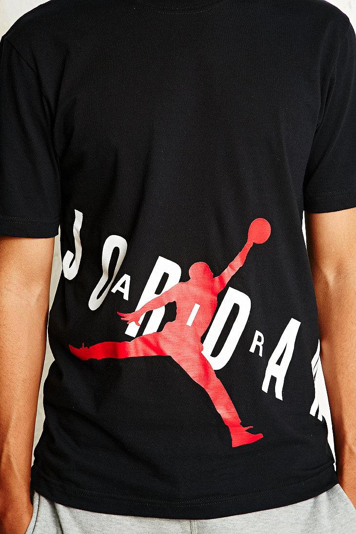 ... Nike Air Jordan Jumpman Bold Tee in Black in Black for Men - . 25eab43b218