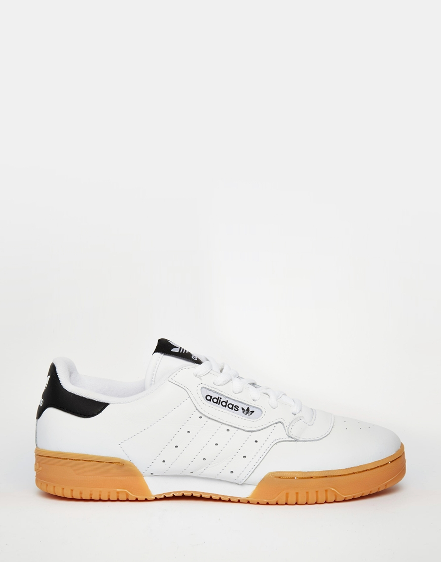Lyst - adidas Originals Powerphase Sneakers in White for Men 77f41c44f