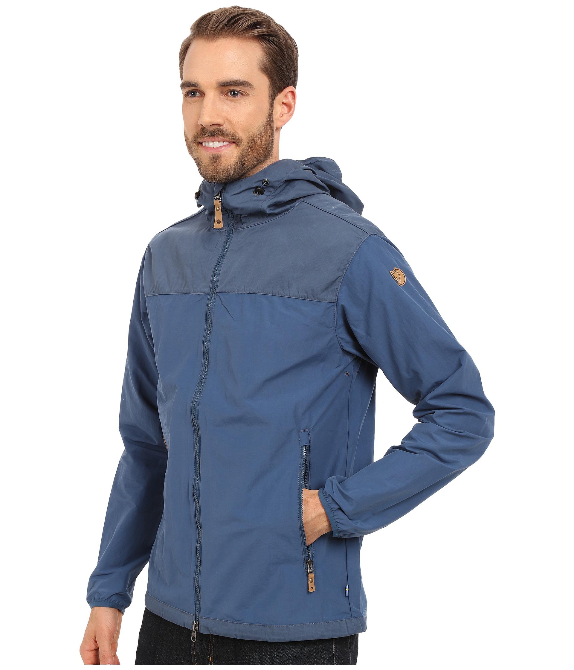 3908caa8 Fjallraven Abisko Hybrid Jacket in Blue for Men - Lyst