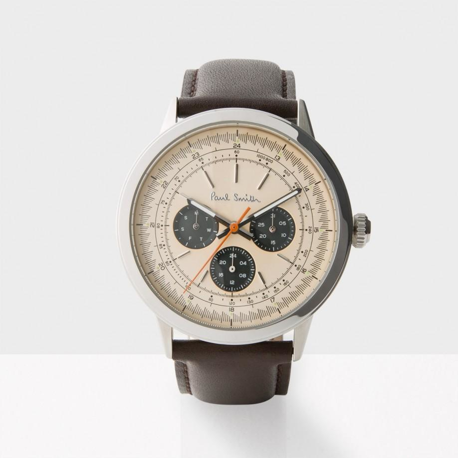 paul smith s gold and brown precision in