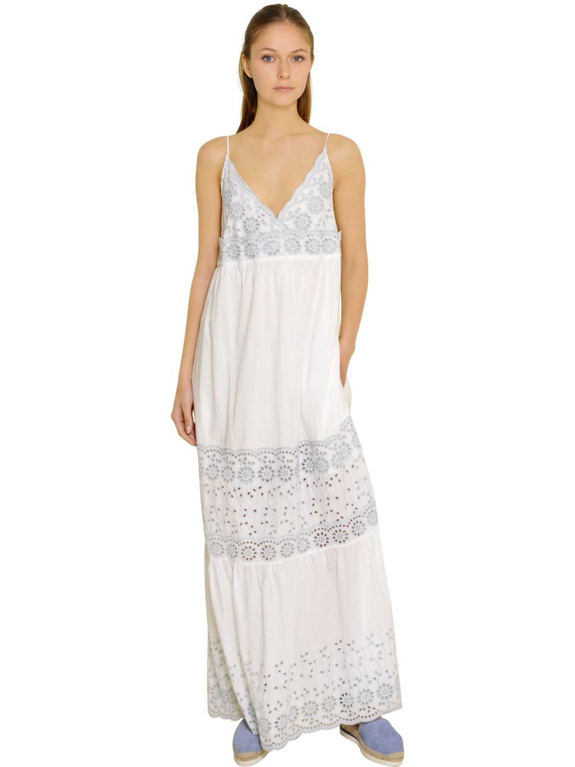 Embroidered lace dress See By Chlo 62d7BHCrKD
