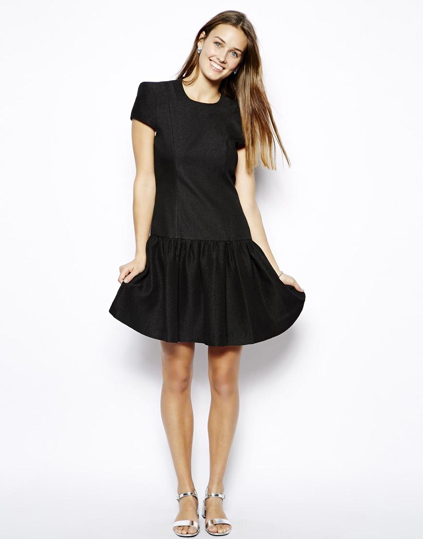 Drop Waist Evening Dress