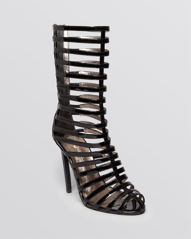 Jeffrey Campbell Tall Sandals Gladiator High Heel In Black