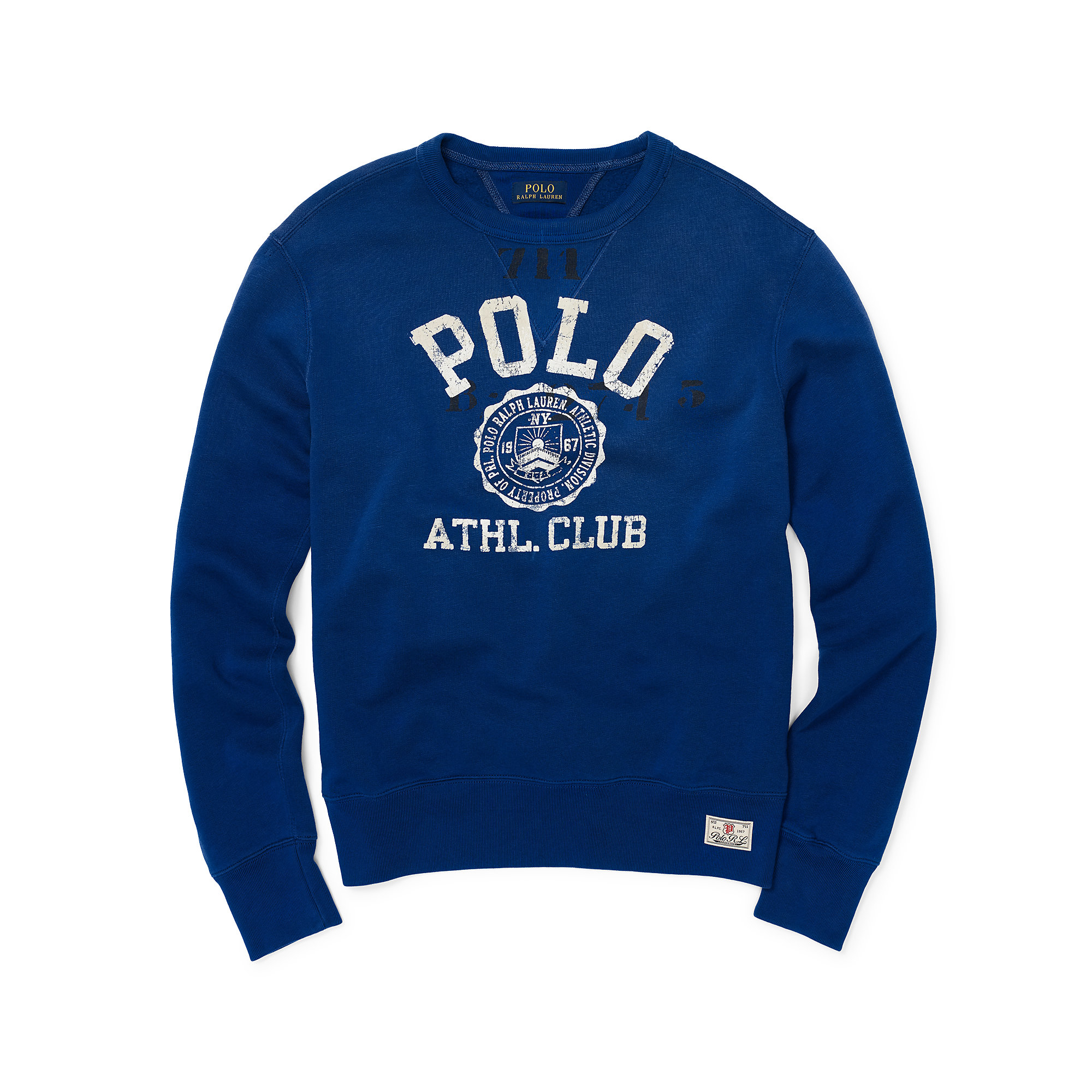 0a3cdb21c reduced polo ralph lauren mercer club winter rugby shirt d910e f3e27  cheap  lyst polo ralph lauren fleece graphic sweatshirt in blue for men 1a99d ac1cb