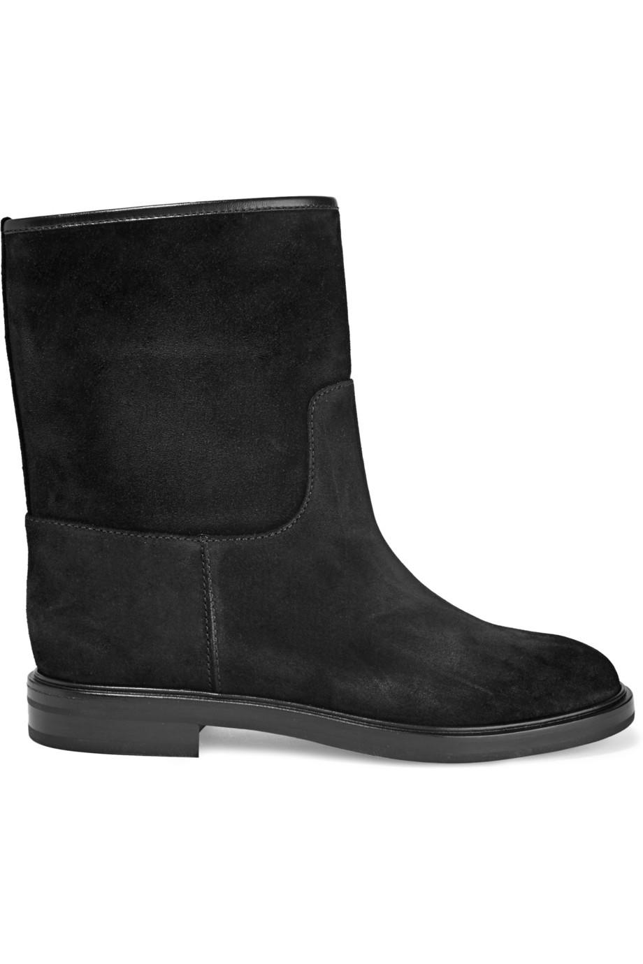 Casadei Suede Boots in Black