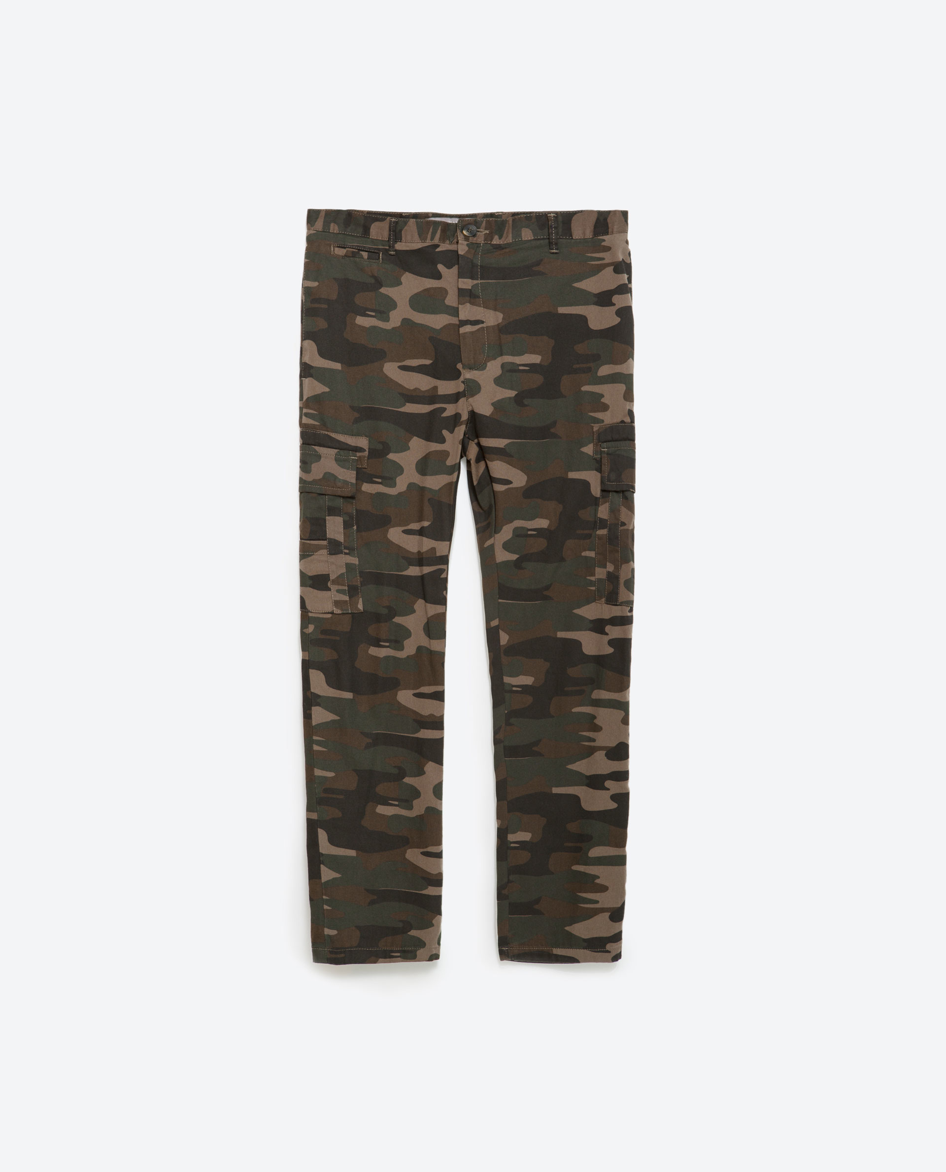 Luxury Zara  Multicolor Join Life Camouflage Cargo Trousers  Lyst