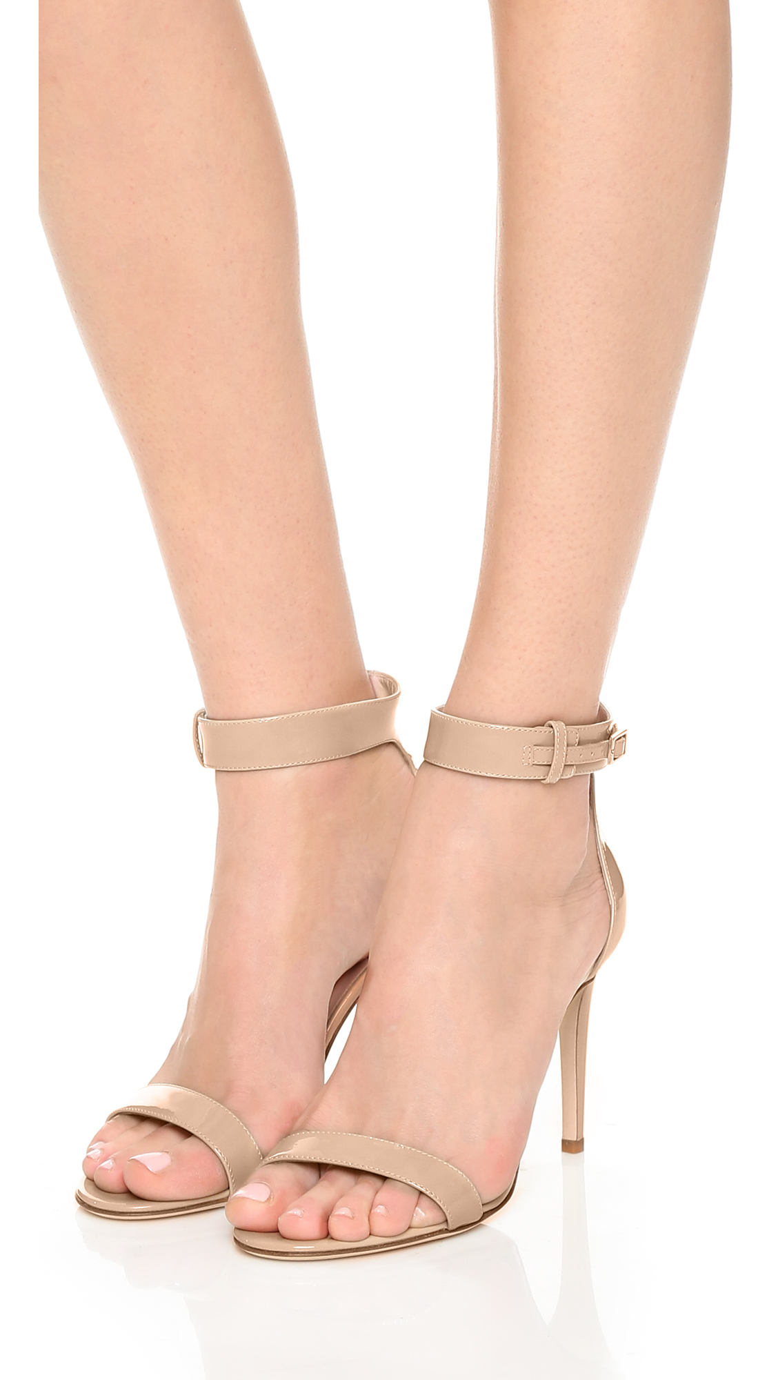 8fa4f32f546 Lyst - Kate Spade Isa Sandals in Natural