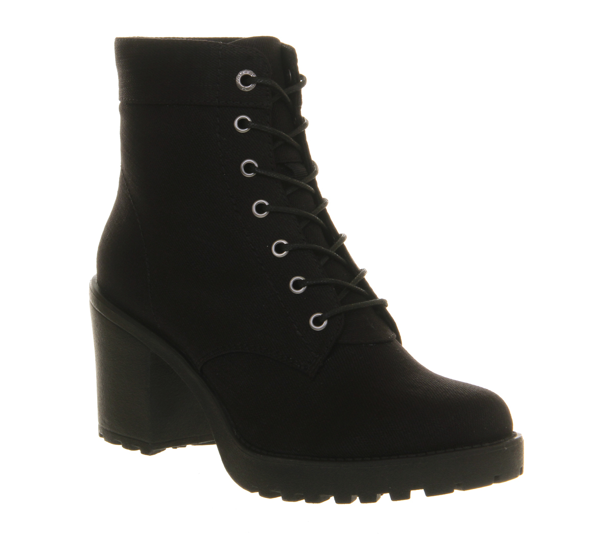 vagabond grace canvas boots in black lyst
