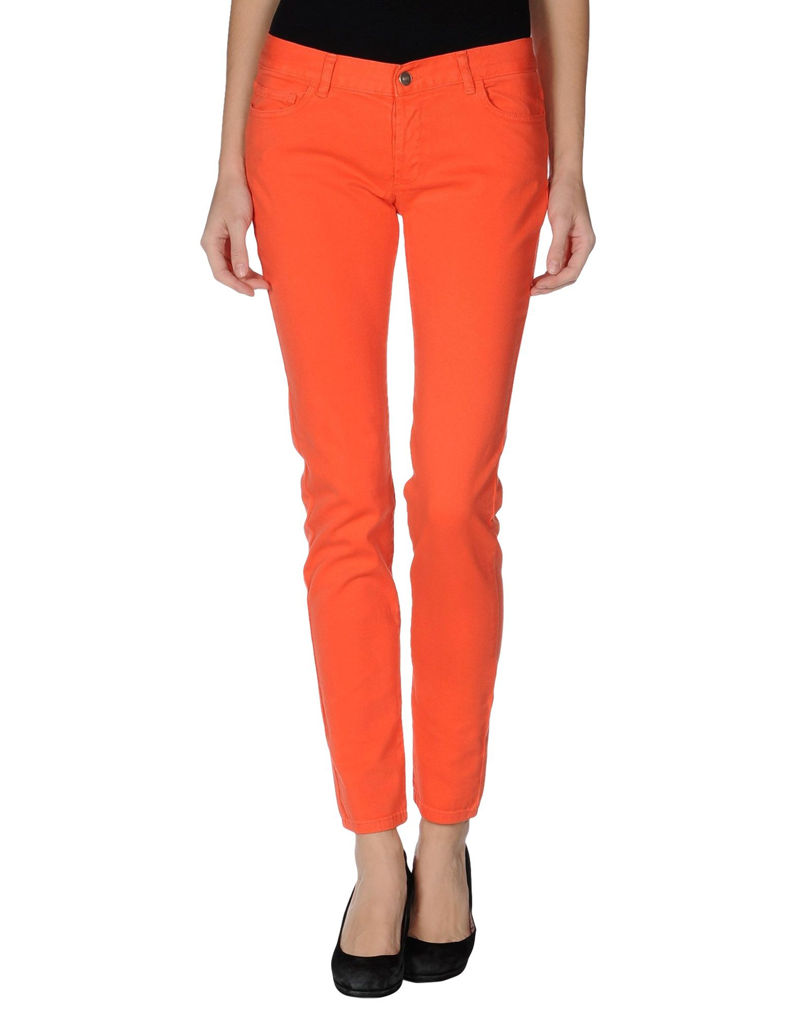 a7d45bd8d1c Lyst - See By Chloé Denim Pants in Orange