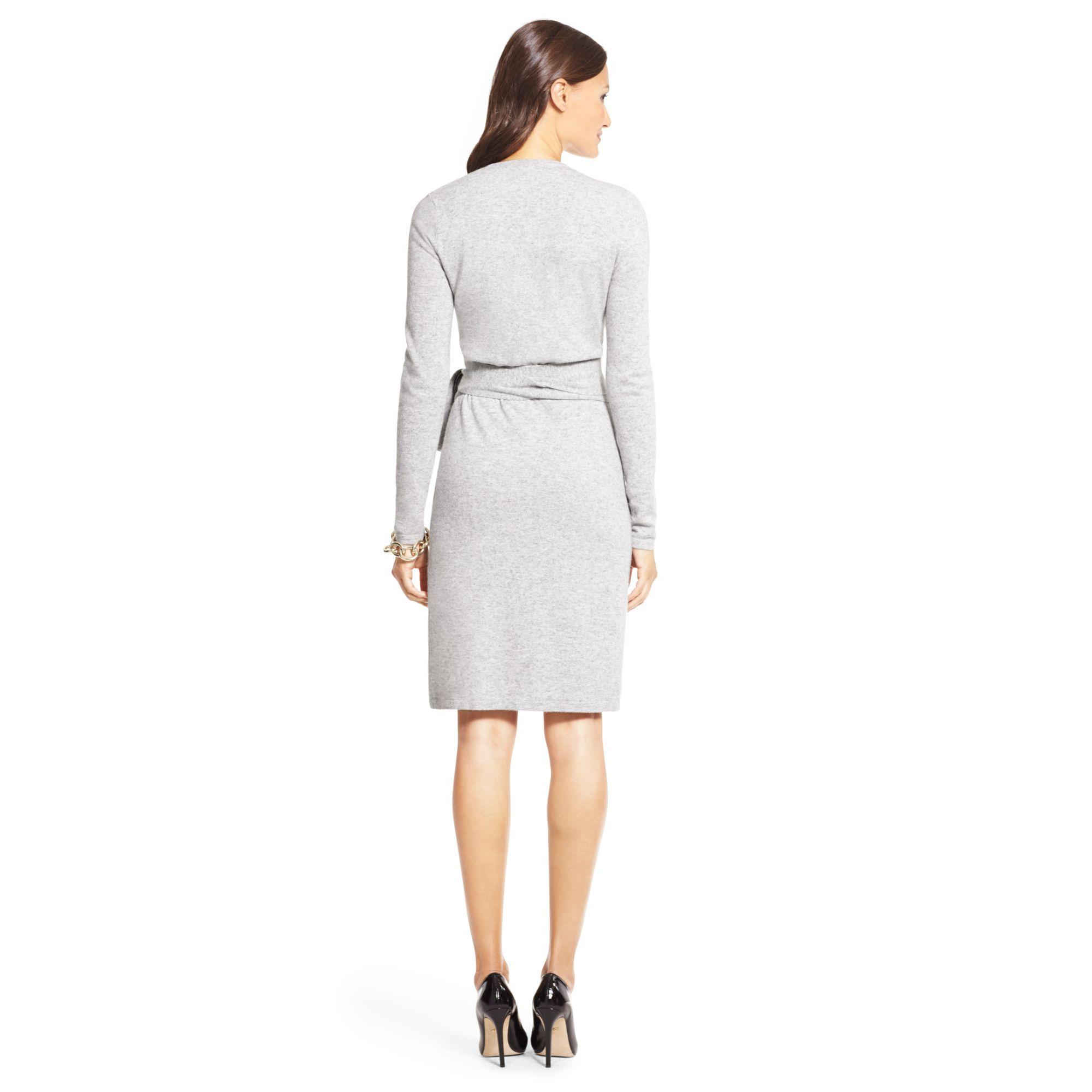 Ginia Cashmere Gowns Wrap Gown: Diane Von Furstenberg Linda Cashmere Blend Sweater