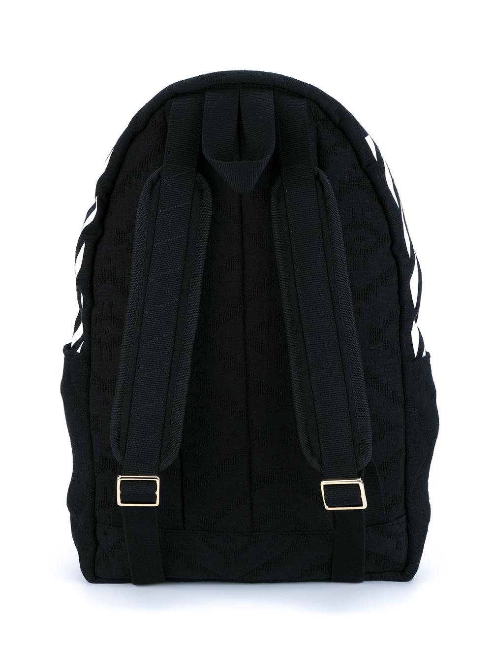 off white c o virgil abloh quilted backpack in black for. Black Bedroom Furniture Sets. Home Design Ideas