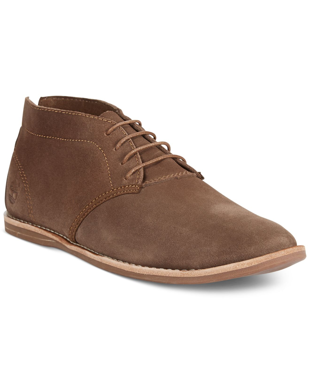 timberland earthkeepers revenia chukka boots in brown for