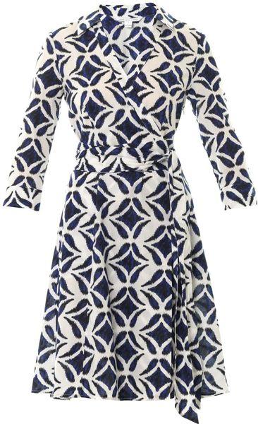 Diane Von Furstenberg Patrice Dress in Blue