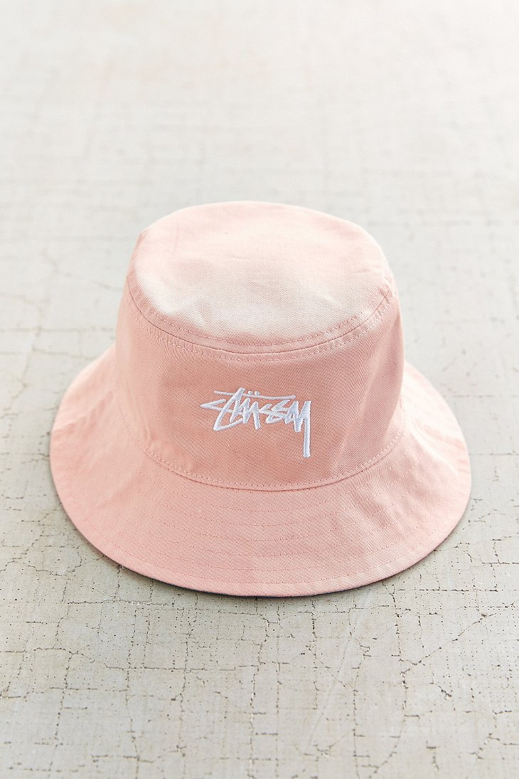 Stussy For Uo Digital Print Reversible Bucket Hat in Pink ...