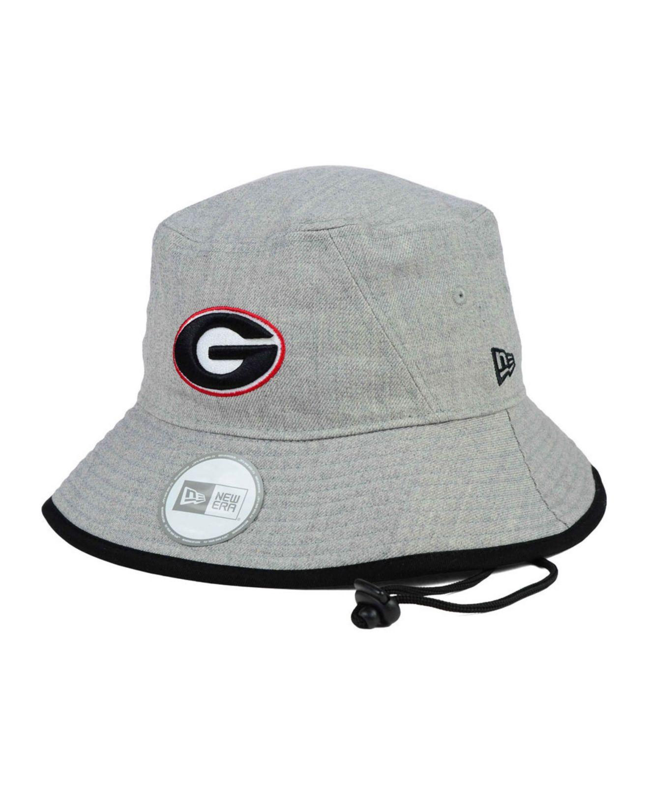 2861234b2f0 Lyst - KTZ Georgia Bulldogs Tip Bucket Hat in Gray for Men